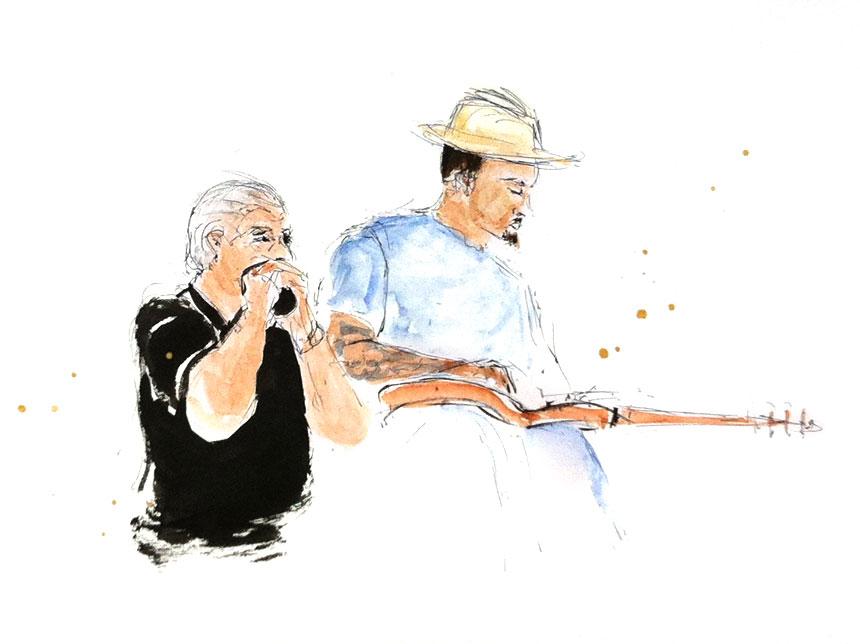 Ben-Harper-&-Charlie-Musselwhite_JAZZ-A-VIENNE_05.07.13