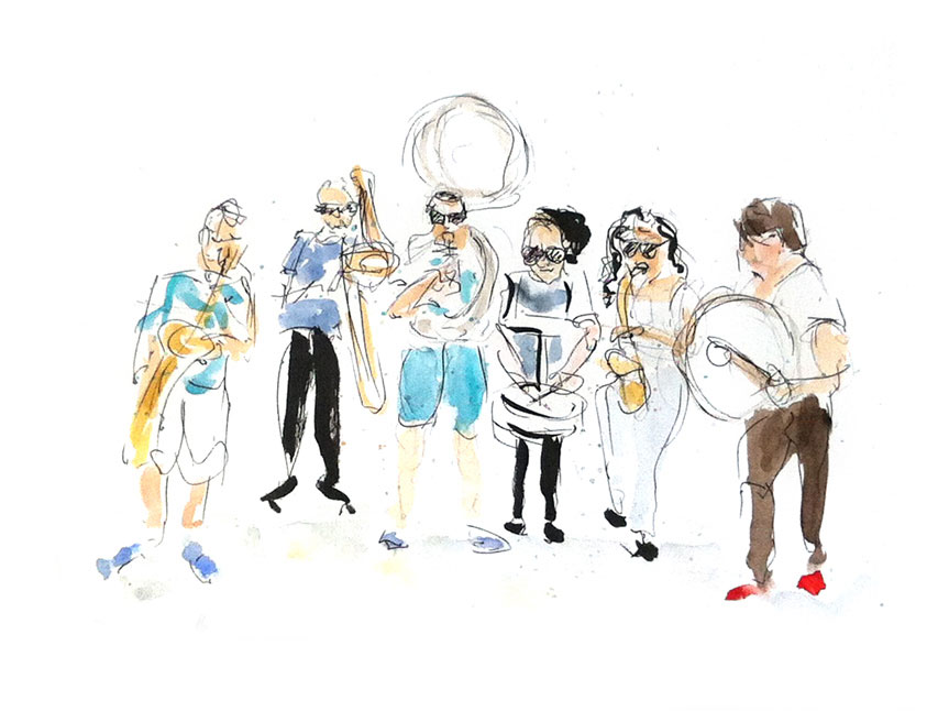 Nucleus-Street-Marching-Band_JAZZ-A-VIENNE_02.07.14
